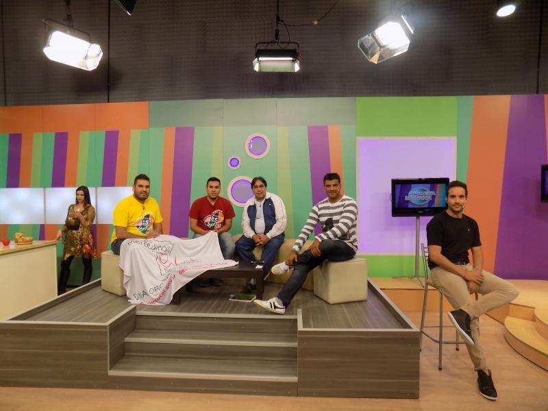 DIFUNDIENDO LA DONACION DE ORGANOS Y TEJIDOS EN PROGRAMA DE TV PROVINCIAL, Fundacion Villa Mercedinos Solidarios, Villa Mercedes