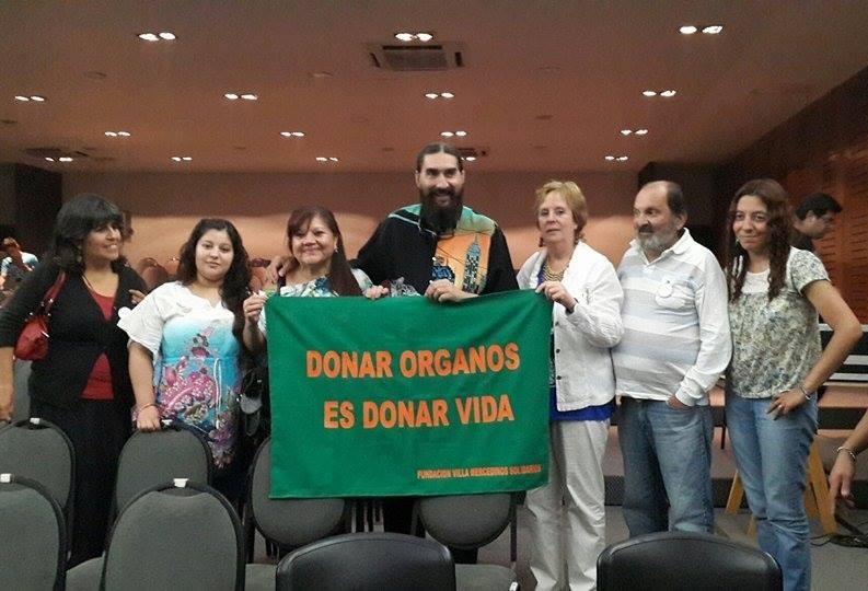 DIFUNDIENDO LA DONACION DE ORGANOS Y TEJIDOS CON HUGO VARELA, Fundacion Villa Mercedinos Solidarios, Villa Mercedes