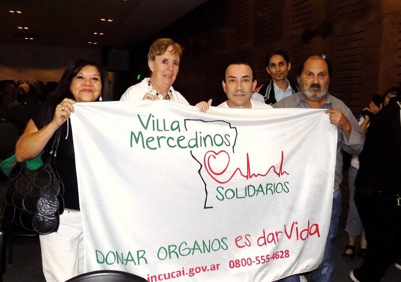 DIFUNDIENDO LA DONACION DE ORGANOS Y TEJIDOS CON ANIBAL PACHANO, Fundacion Villa Mercedinos Solidarios, Villa Mercedes