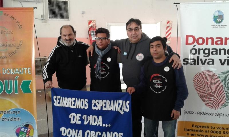 CHARLAS A ESCUELAS, Fundacion Villa Mercedinos Solidarios, Villa Mercedes