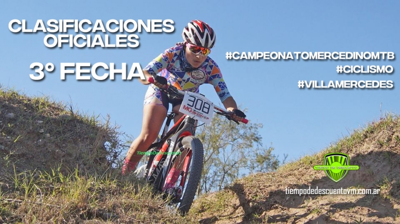 CLASIFICACIONES OFICIALES 3º FECHA, Tiempo de Descuento, Villa Mercedes