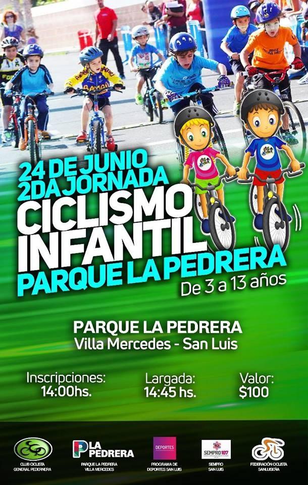CICLISMO INFANTIL EN LA PEDRERA, Tiempo de Descuento, Villa Mercedes